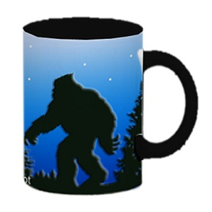 BF53972 BF1101 Reg Bigfoot Coffee Mug