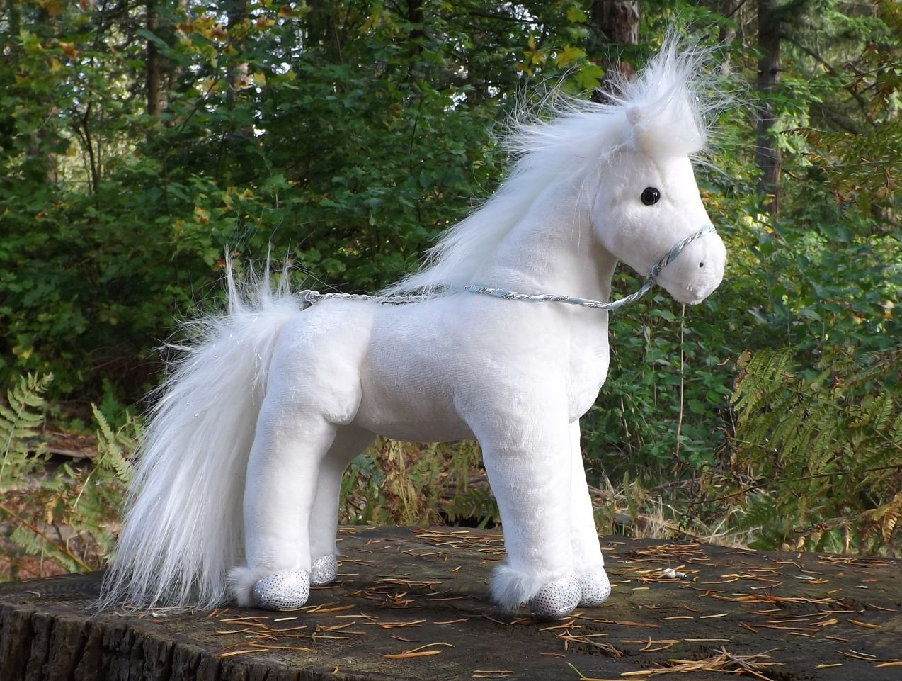 D4000-Starry-Night-White-Horse-Plush-Toy