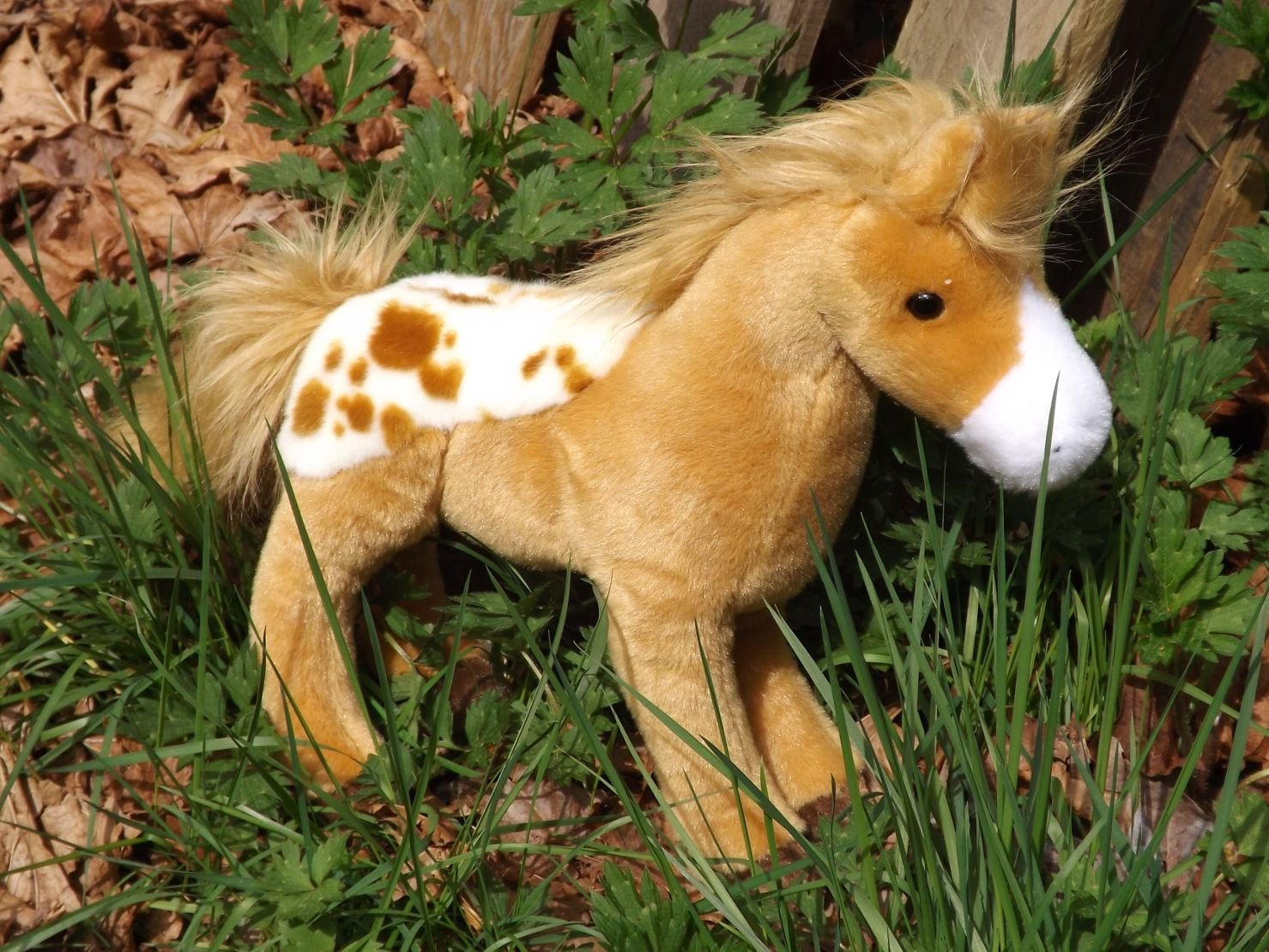 D4650-Diana-Golden-Blanket-Plush-Appaloosa-Horse