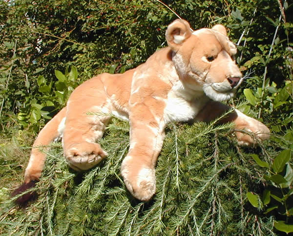Large Stuffed Jungle Cats Product Categories