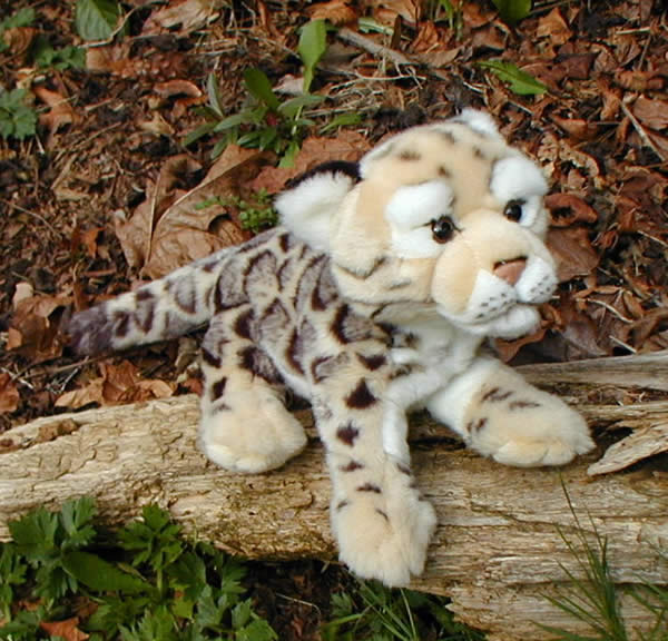 Clouded Leopard Stuffed Animal 12 Clouded Leopard Plush Toy