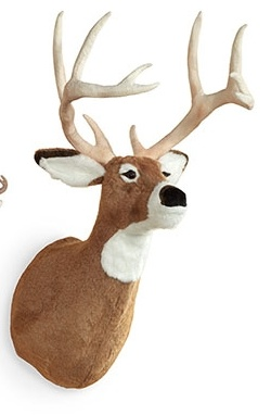 MWT-14-Life-Size-Stuffed-Deer-Hanging-Trophy-Head