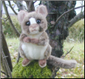 Stuffed Tarsier