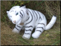 Stuffed White Tigers