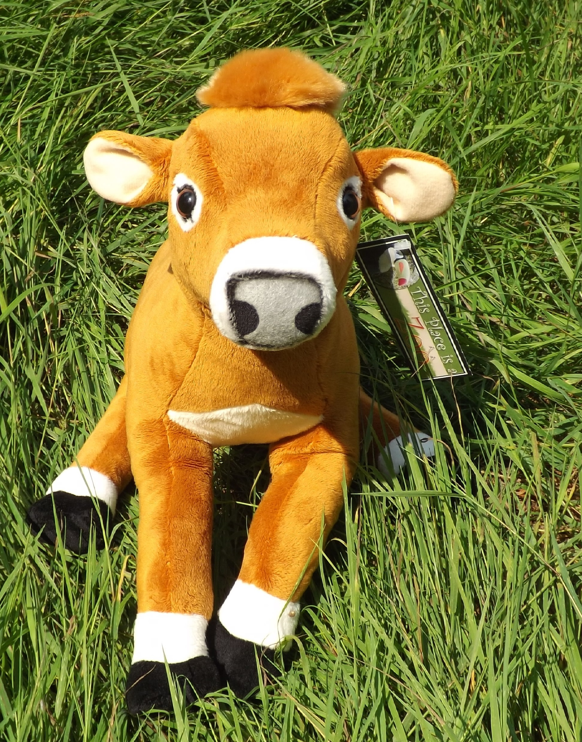 stuffed animal jersey cow